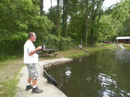North carolina vacation 2012 for Fly fishing near me